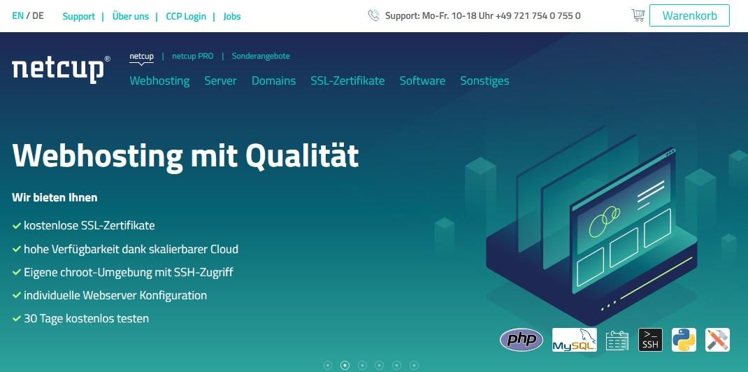 Netcup: Einer Domain ein Hosting-Paket zuweisen