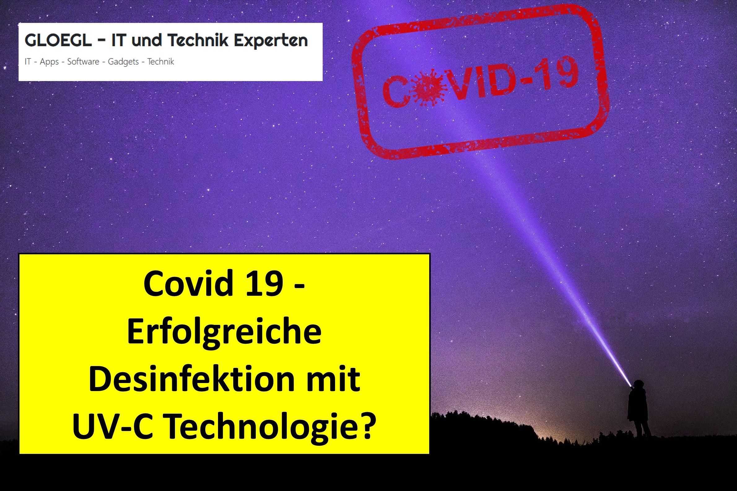 Desinfektion mit UV-Licht - funktioniert das wirklich?