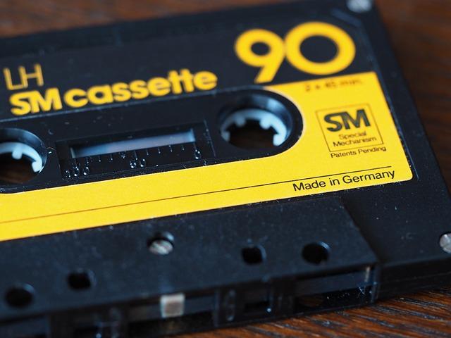 Früher: Aufnehmen von Radio auf Kassette - Heute: Playlists verwenden
